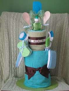 Because I Said So (and Other Mommyisms): Kitchen Towel Cake