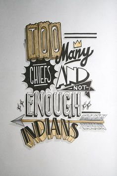 The best examples for your daily need of hand lettering inspiration.