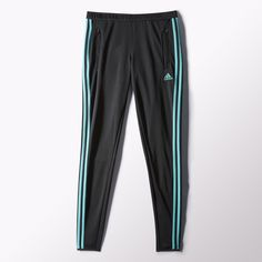 Play beyond the heat and sweat with the women's adidas Tiro 13 Training Pants. Designed with the strategic cooling effect of climacool® ventilation, the soccer pants feature a comfortable women's-specific fit, side zip pockets and an elastic waist. Discount Adidas, Soccer Pants, Adidas Sweatpants, Athletic Outfits, Athletic Clothes, Training Pants, Perfect World, Adidas Women, Turtle Neck