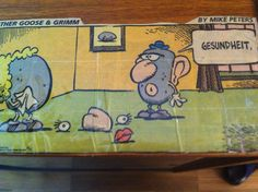 """""""Gesundheit"""" from """"Mother Goose and Grimm"""" by cartoonist Mark Peters one of my all-time favorite clips I came across long ago."""