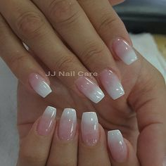 Photo of JJ Nail Care - San Jose, CA, United States. Pink and white ombre