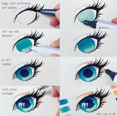 art tips eyes * art tips ; art tips drawing ; art tips and tricks ; art tips anatomy ; art tips for beginners ; art tips hair ; art tips face ; art tips eyes Marker Kunst, Copic Marker Art, Copic Art, Copic Drawings, Art Drawings Sketches, Drawing Art, Sharpie Drawings, Eye Drawings, Manga Drawing