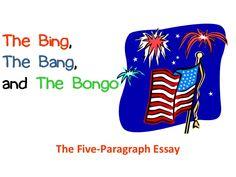 bing bang bongo five paragraph essay