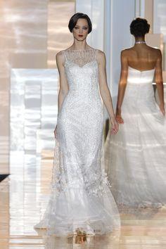 Vestidos inspirados en los años 20 y el Art Déco #novias2015 #BarcelonaBridalWeek #noviasvintage