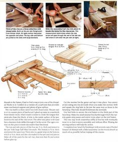 Heavy Duty Workbench Plans - Workshop Solutions Projects, Tips and Tricks - Woodwork, Woodworking, Woodworking Plans, Woodworking Projects Workbench Plans, Woodworking Workbench, Woodworking Projects, Create A Board, Workshop, Workbenches, How To Plan, Wood Working, Tables