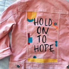 Nordstrom Jeans painted jean jacket by enid