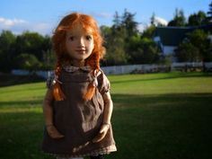Xenis Dolls Anne visiting Green Gables