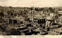 Buyuk Istanbul Yangini,1908