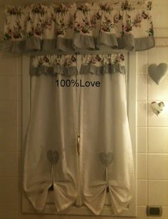 Tende Country bagno | tende | Pinterest | Soft furnishings and Shabby
