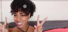 Pinned Up Side-do Curly Hair Care, Curly Hair Styles, Natural Hair Styles, Natural Hair Tutorials, Up Hairstyles, Naturally Curly, Pin Up, Advice, Tips