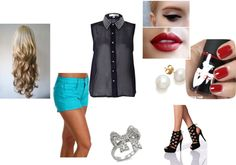 """""""Untitled #330"""" by donewithdolls ❤ liked on Polyvore"""