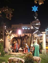 Christmas and New Year Holiday in Valencia, Spain