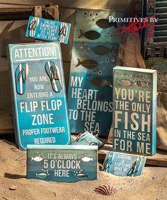 Beach Box Signs