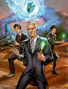 Titan Comics Launch Doctor Who Comic Books Day Poster & Website