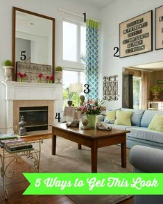 5 Ways to Get This Look: High Ceiling Living Room
