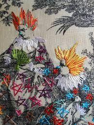 tapeçaria bordada contemporanea - Pesquisa Google