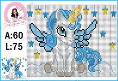 1 million+ Stunning Free Images to Use Anywhere Kawaii Cross Stitch, Cross Stitch For Kids, Unicorn Cross Stitch Pattern, Cross Stitch Patterns, Crochet Cross, Crochet Chart, Cross Stitching, Cross Stitch Embroidery, Stitch Cartoon
