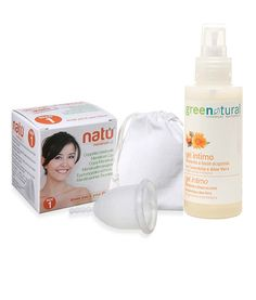 Natu Menstrual Cup: Available in two sizes. Menstrual Cup, Menstrual Cycle, Calendula, Shark Week, Personal Care, Period, Cups, Products, Environment