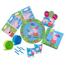 Image result for peppa pig party supplies