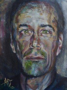 Self-Portrait in Winter (2012) - Alan Derwin