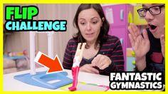 FLIP CHALLENGE con Fantastic Gymnastics