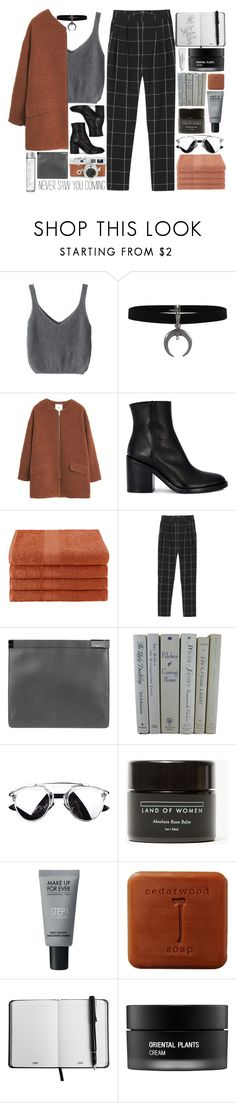 """i don't think i felt this before"" by akp123 ❤ liked on Polyvore featuring MANGO, Ann Demeulemeester, Home City, Leica, Monki, Maison Margiela, Land of Women, MAKE UP FOR EVER, Koh Gen Do and Byredo"