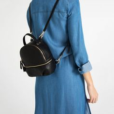 Image 1 of CONVERTIBLE BACKPACK from Zara