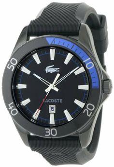 Lacoste Sport Navigator Rubber Mens Watch 2010552 Lacoste. $140.15