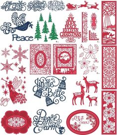 SUE WILSON CHRISTMAS FESTIVE COLLECTION 2015 CREATIVE EXPRESSIONS 21 DIE CHOICE | eBay