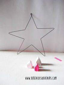 Tuto pour faire une étoile en fer - DIY wire star