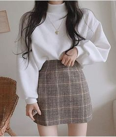 Kpop Fashion Outfits, Mode Outfits, Girly Outfits, Cute Casual Outfits, Pretty Outfits, Stylish Outfits, Fashion Pants, Fasion, Korean Casual Outfits