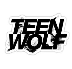Teen Wolf stickers featuring millions of original designs created by independent artists. Teen Wolf Memes, Teen Wolf Logo, Teen Wolf Mtv, Tumblr Stickers, Cool Stickers, Printable Stickers, Laptop Stickers, Planner Stickers, Logo Sticker