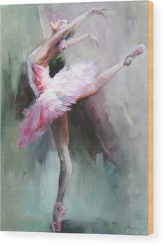 Swan Lake 2 Wood Print by Nelya Shenklyarska. All wood prints are professionally printed, packaged, and shipped within 3 - 4 business days and delivered ready-to-hang on your wall. Choose from multiple sizes and mounting options.