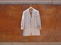 Vintage blazer // Tailor made jacket // Hipster // Grunge // Jacket // Blazer