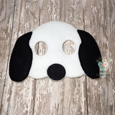 INTRO PRICE  Snoopy Peanuts Inspired Mask Childrens Felt Mask Dress up Costume