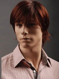 New Arrival Short Straight Synthetic Wig for Men