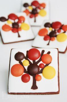 Inspiración: Galletas decoradas para el otoño » Whole Kitchen