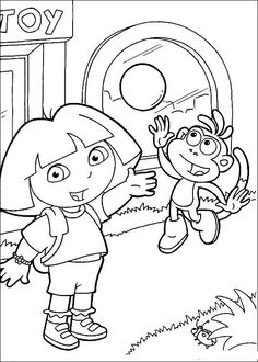Dora The Explorer Printables