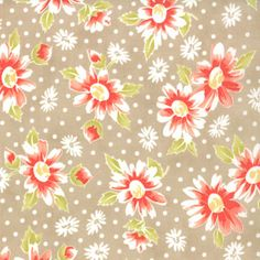 United Notions & Moda Fabrics: California Girl Boardwalk, Fig Tree & Co for Moda