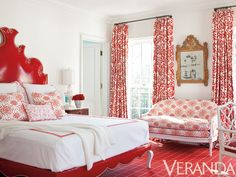 Julie Hayes makes a bold statement in this colorful bedroom from our November-December 2011 issue.