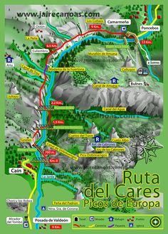 I would really wish and want to go this route. TOUCH esta imagen: Ruta del Cares by Jaire Aventura Rest Of The World, Travel Around The World, Around The Worlds, Interactive Media, Spain And Portugal, Spain Travel, Road Trip, Places To Visit, Tours