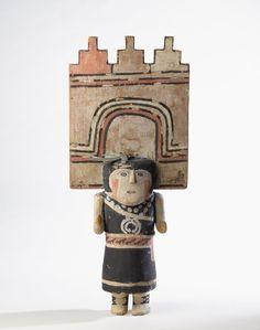 Hopi Pueblo (Native American). Kachina Doll (Pahlikmana), late 19th century - Kachina - Wikipedia