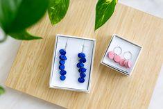 Vuono and Kallas earrings by Oikku Design Enamel, Earrings, Accessories, Design, Ear Rings, Vitreous Enamel, Stud Earrings, Ear Piercings