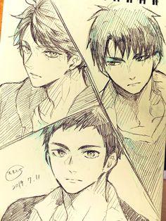 桃壱 @kydki Haikyuu Manga, Haikyuu Fanart, Haikyuu Kageyama, Anime Character Drawing, Manga Drawing, Character Art, Anime Boy Sketch, Anime Drawings Sketches, Anime Akatsuki