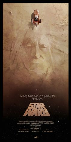 60 Star Wars alt. Posters :: Every single one of these is amazing.  (Pictured: Star Wars - A New Hope by Any Fairhurst)