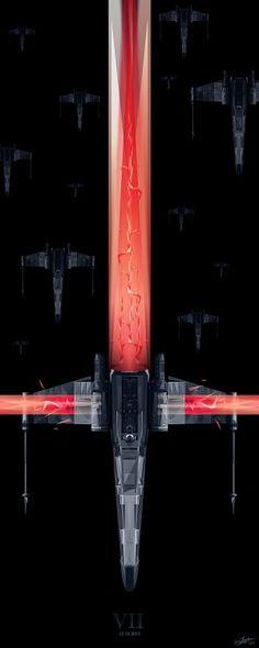 Star Wars Episode VII fan art by Simon Delart