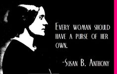 Women's Rights Quotes Susan Banthony Speech Quote Art Print  Women's Rights  American .
