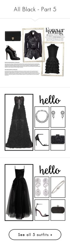 """All Black - Part 5"" by miriam83 ❤ liked on Polyvore"