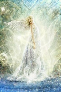 "Missing my angel girl - love you forever ""Winter Light"" by *brandrificus on deviantART Angel Stories, Angel Guide, I Believe In Angels, Winter Light, Angel Pictures, Angels Among Us, Angels In Heaven, Heavenly Angels, Guardian Angels"