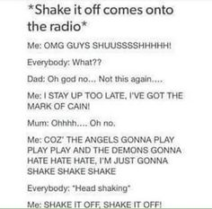 I hate the regular song but I love the SPN version. Doesn't make sense but it's true.